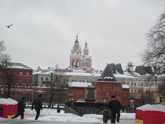 Москва. Центр